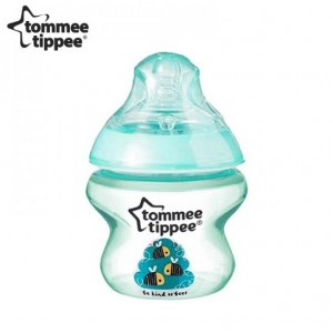 Tommee Tippee Decorated Bottle Green 5oz/125ml Single No Box