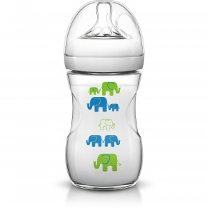 Philips Avent Natural Elephant 9oz/260ml (Green)